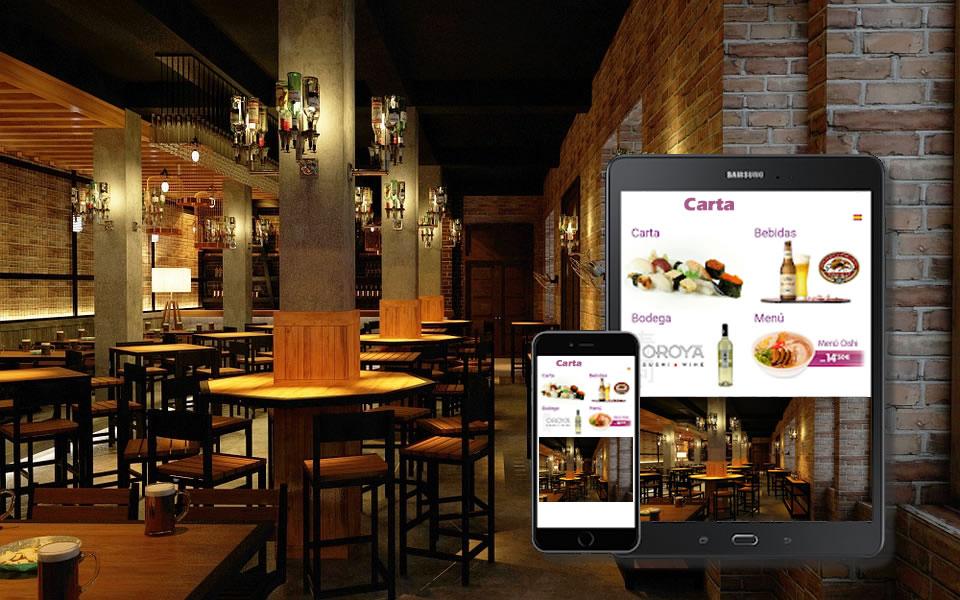 Cómo hacer una carta y menú digital para bares y restaurantes