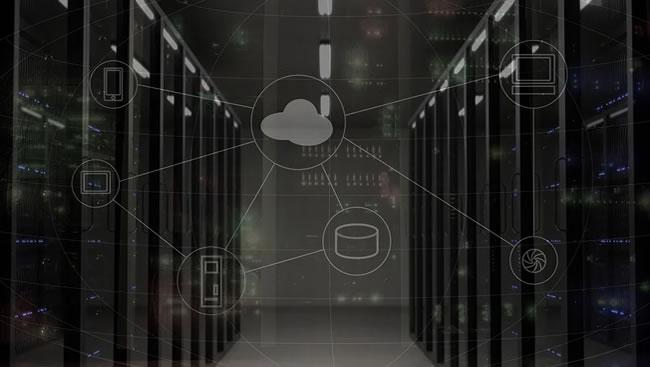 Centro de datos de un proveedor de hosting para WordPress