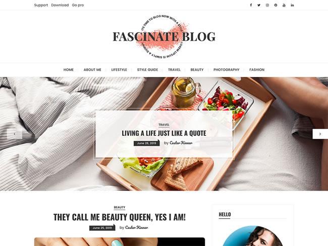 Tema gratis de WordPress moderno, minimalista y gratuito