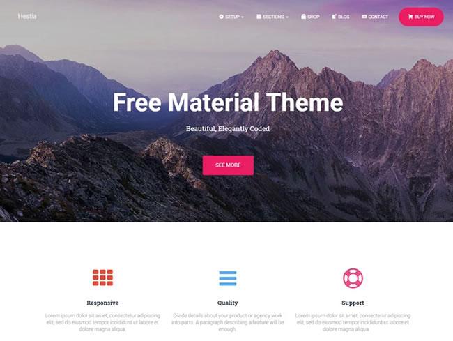 Plantillas wordpress gratis responsive y minimalistas