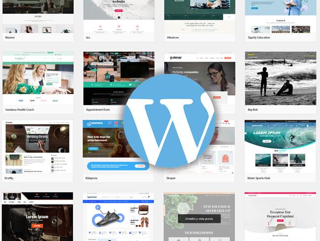 Los mejores temas y plantillas gratis de WordPress listos para descargar