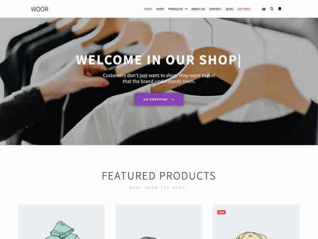 Uno de los temas gratis wordpress para tu propia tienda online