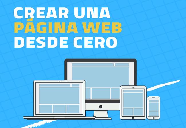 Crear una página web desde cero y fácil