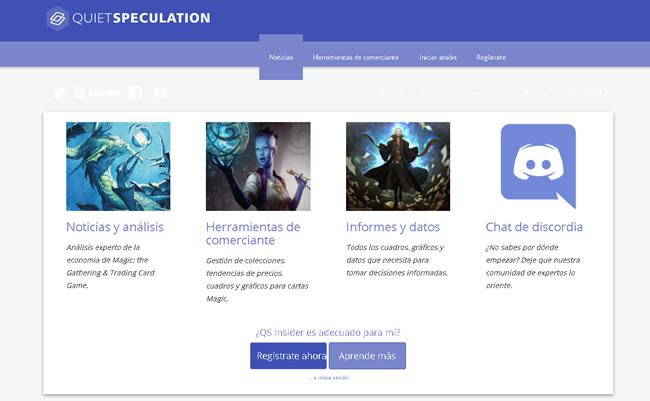 Ejemplo de un sitio web de membresía